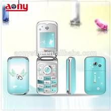 GSM Spreadtrum 6610 dual sim 1.44 inch china mini mobile flip phone