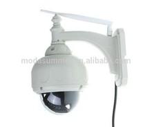 P2P Plug And Play Wireless 20X Optical Zoom Ptz IP Camera With TF/Micro SD Memory Card Slot