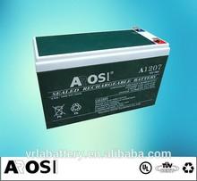 12V Sealed Deep Cycle AGM Battery UPS 12v 2.5ah motorcycle lead acid battery