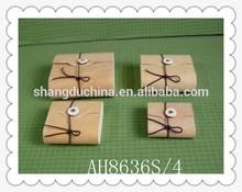 Top grade new arrival handmade decorative wooden soap box