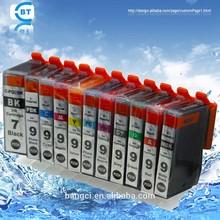 Hot Sale Compatible ink Cartridge Replace for Canon PGI-7BK, PGI-9 Series