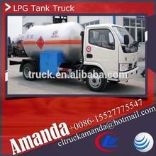 Dongfeng lpg газа, 5500 liters lpg авто майка, Мини lpg танки для автомобилей