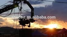 good price hot model flexible 3m-17m camera crane
