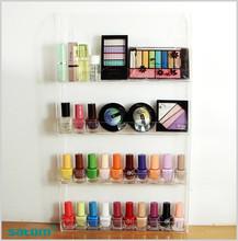 2016 high population nail polish wall mount display case