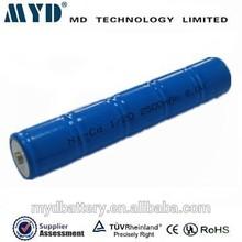 Wholesale price 6V 2500mAh Ni cd battery