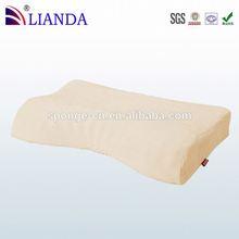 Releases heat and feel warm visco elastic memory foam pillow