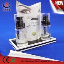 2015 High quality custom clear acrylic makeup organizers factory