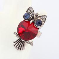 Fancy Design Children Cute Decorative Jewelry owl ring