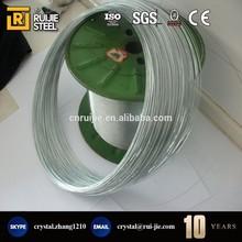 22 gauge carbon electro galvanized steel wire/galvanized iron wire