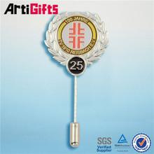 Various styles safety pin lapel pin emblem
