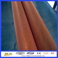 (Factory)copper metal fabric metallic cloth