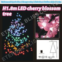 """H1.8m/70""""/70inch/6'/6Ft white led japanese cherry blossom christmas led flower tree lights"""