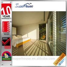AS2047 standard luxury aluminium louver shutter window