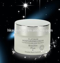 Platinum moisturizing hydroquinone cream