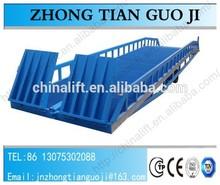 Container loading ramp garage car ramp portable yard ramp price