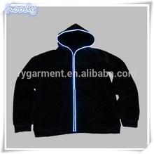 men's LED flash hoody wholesale sweat suits