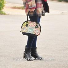 Professional manufacturer cross-stitch women bags nice quality canvas handbag