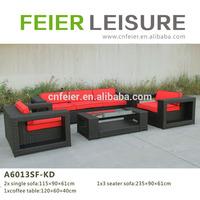 Grand outdoor sofa set rattan furnitures of cebu