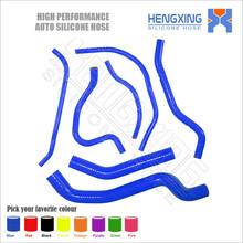 Blue motorcycle silicone radiator hose kit for YAMAHA 06 07 08 09 10 FZ1 FZ-1