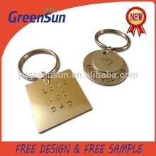 Custom Antique Copper Key Chain