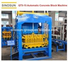 Good quality QT5-15 full automatic hydraulic concrete block production line,equipment for brick factorys