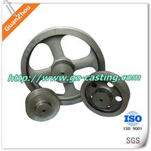 2015 Alibaba China supplier OEM&customized mechanical iron casting parts cast iron flywheel