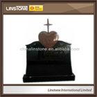 Heart and Cross headstones tombstone