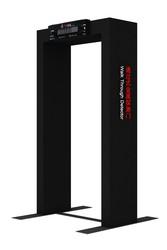Foldable portable metal detector copper