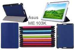 CY Karst Pattern Slim 3- Folding Leather Case Cover Skin For ASUS MeMO Pad 10 ME103K 10.1 inch Tablet