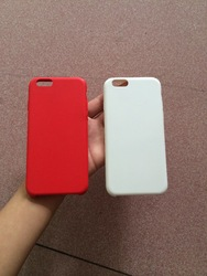 custom logo 4.7/5.5 silicon cover with micro fiber inside for iphone 6