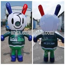 Adorable moving cartoon type life size cartoon character