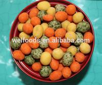 mix coated peanuts