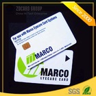 Factory price high quality plastic smart sle5542 memory card
