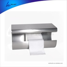 popular commercial fancy design good quality stainless steel wall hanged paper holder