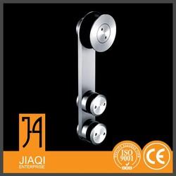 Stainless steel hardware 3/8'' clear corner bath with door