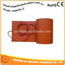 customized flexible kerosene heater for drum,silicone rubber flexible heater