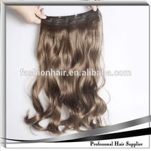 YiWu YiLu Factory Directly Synthetic Hair ,Synthetic Hair Extension With Clip Curly ,Synthetic Hair
