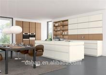 U shape furniture kitchen for villa and construction