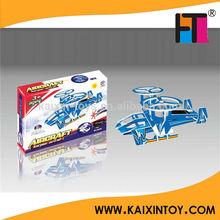 Promotion 3D solaire puissance avions bricolage casse - tête intelligents jouet EN71 / ASTM / HR4040