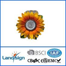 landsign XLTD-508 led resin solar sunflower lamp