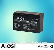 AGM Storage VRLA Battery Rechargeable lead acid Battery 12v 2.6ah