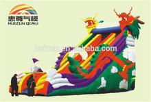 high giant inflatable slide/dry slide for christmas