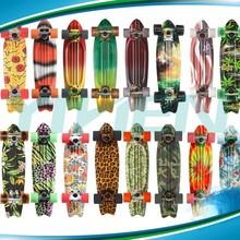 penny blank printing deck 22inch cruiser plastic skateboard longboard