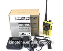 Hot-selling dual band walkie talkie BAOFENG UV-5RE PLUS handheld VHF UHF two way radio