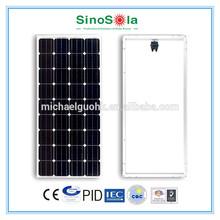 PV Module 100W With Siliced 6'' Mono-crystalline Silicon Solar Cells