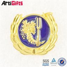 Free Artwork customized embossed army metal badge