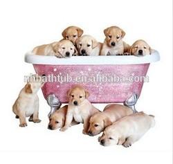 Dog pet bathtub