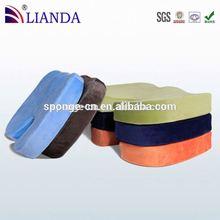 best seller on amazon round shape cushion,round shaped seat cushion,satin seat pad