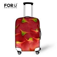 Unique Design Dustproof Protecting Dragon Fruit Luggage Cover