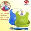 Ingrosso kareado eco a buon mercato- Amichevole cute baby alimentazione impermeabile in silicone di grado alimentare bavaglini per bambini
